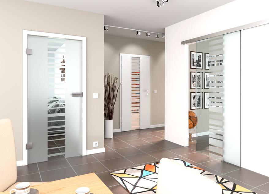 Glastüren, Ganzglastüren und Türen mit Lichtausschnitte ...